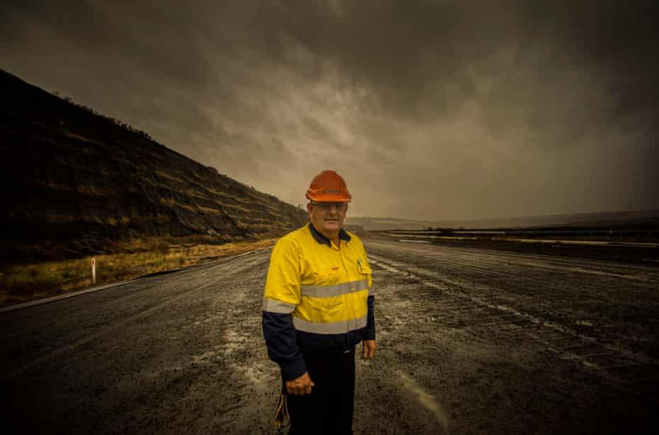 Rob Dugan, a worker at Hazelwood mine.