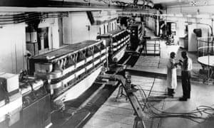 The synchrotron room, Cern, 11 February 1960.