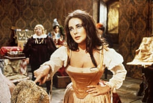 Elizabeth Taylor stars in the Taming of the Shrew
