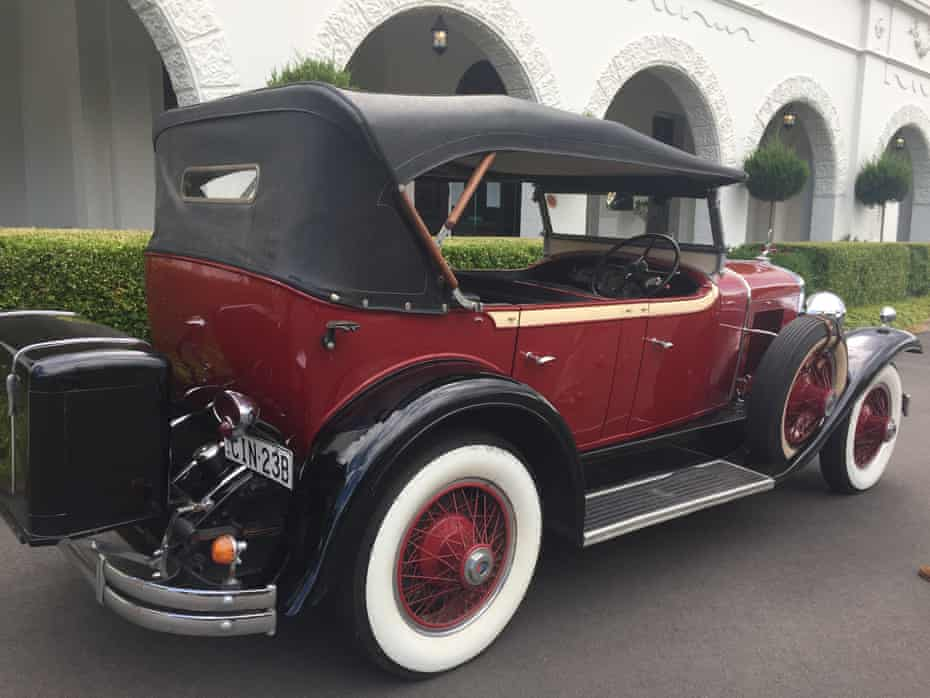A 1929 La Salle Cadillac, part of the Blue Mountains Vintage Cadillac fleet