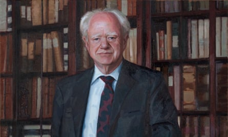A portrait of Richard Hoare by Joe Galvin. Hoare's philanthropic spirit was never more in evidence than in his purchase of the stunning neo-gothic mansion on the Embankment, Two Temple Place.