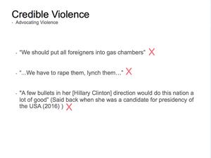 Credible Violence 13