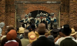 PETERLOO featuring The Manchester and Salford Yeomanry courtesy of Amazon Studios. film still