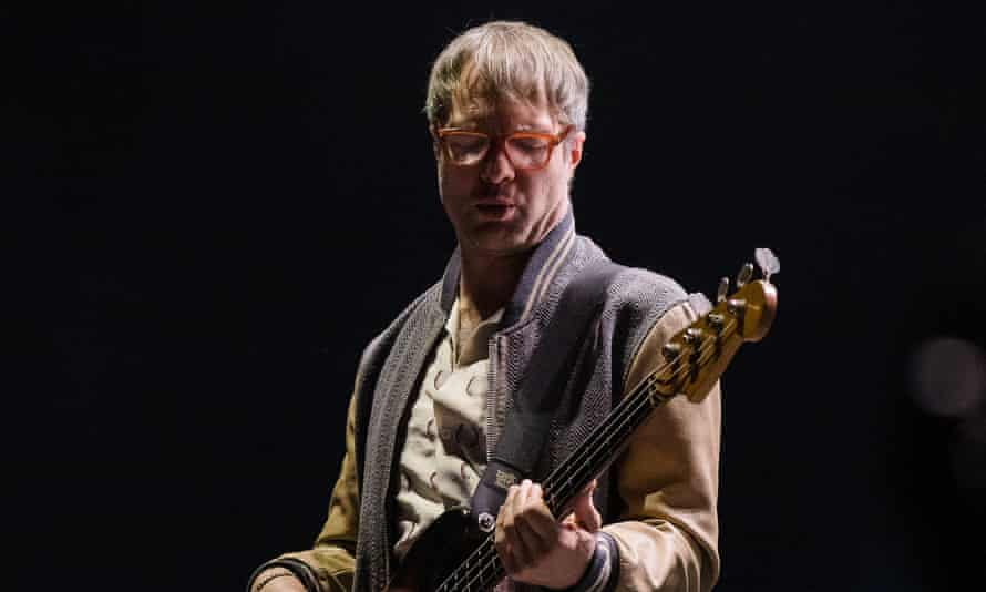 Mickey Madden of Maroon 5 in early March.