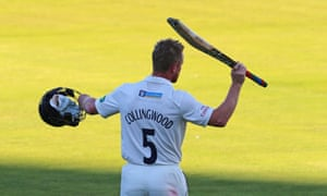 Paul Collingwood has stuck with Durham though thick and thin, winning Championship titles and suffering relegation.