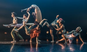 Message in a Bottle – choreographed to old favourites by Sting