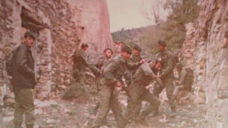 Fraguas - Spanish soldiers training/razing the village in the 1980s