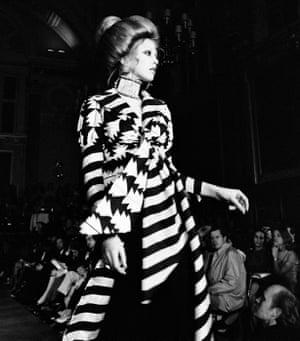Stripes at London Fashion Week, 1969-70