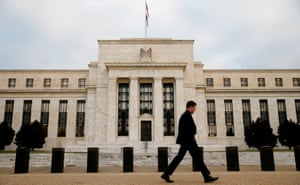 The Federal Reserve bank in Washington DC.