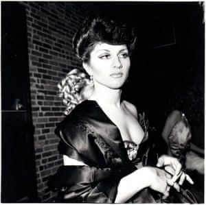 Nan Goldin: Colette in Sophie Loren drag, 1973