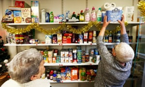 The Woodside Community Pantry, an alternative to food banks.