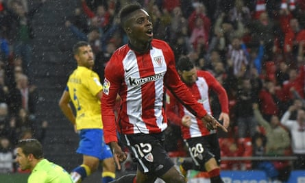 Iñaki Williams has played four times for the Spanish Under-21 side.