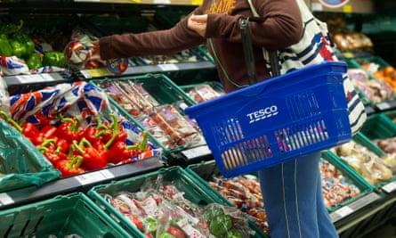 Tesco fruit aisle