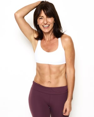 Davina McCall … 'If you don't have weights, improvise with a good old can of baked beans.'