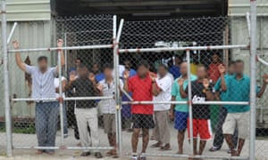 Manus Island asylum seekers