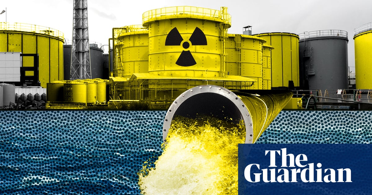 How Japan is making 1 million tonnes of radioactive water safe – video