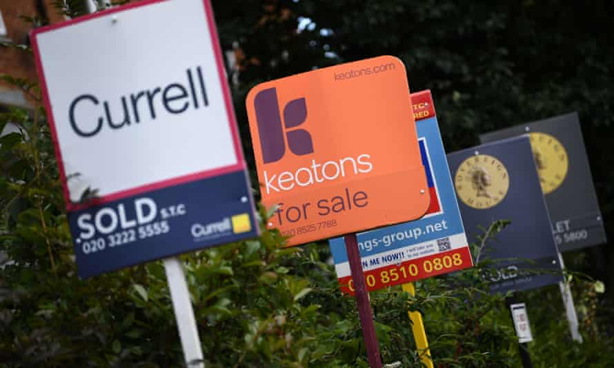 UK house price growth has been dragged down by London in particular.