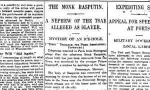 Manchester Guardian, 3 January 1917.