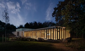 The Weston, Yorkshire Sculpture Park's new visitor centre.