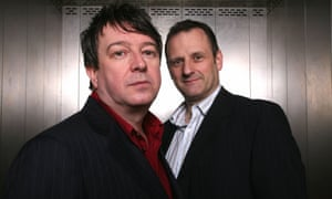 Moving to weekends ... (L-R) Stuart Maconie and Mark Radcliffe.