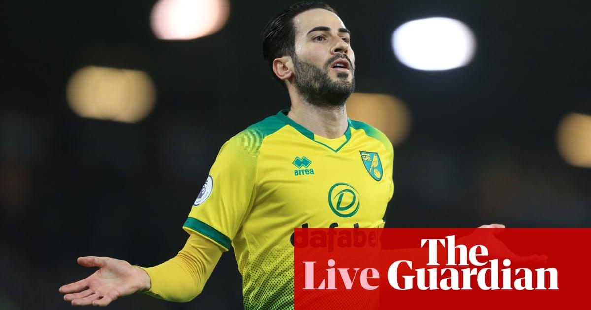 Norwich City v Tottenham: Premier League – live!