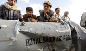 Part of a Saudi fighter jet found near Yemen's capital Sana'a