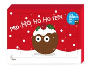 No-tein! An Advent calendar from the Protein Ball Company.