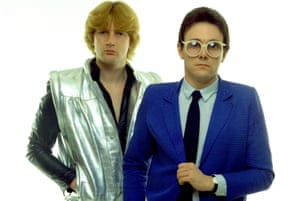 Geoff Downes and Trevor Horn of the Buggles.