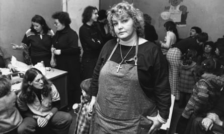 Erin Pizzey, a worker for Women's Aid in 1978.