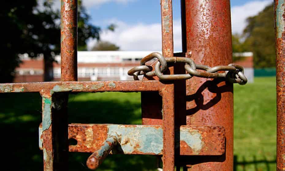 Rusty gate locked