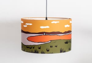 Casgliad is a new independent online platform promoting homewares and art by contemporary Welsh artistsLlanddwyn Lampshade by Elin Crowley, from £38.10, casgliad.com