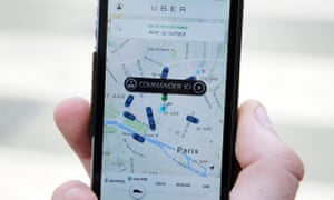 The man says he once connected to his account on the ride-hailing application via his wife's phone