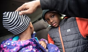 Maleia Jackson, 5, in January had skin rashes that her family believed were from the tap water in Flint.