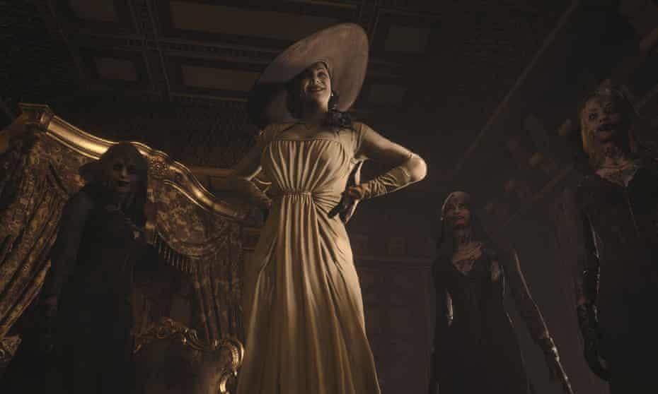 Spellbinding ... Resident Evil Village's Lady Dimitrescu.