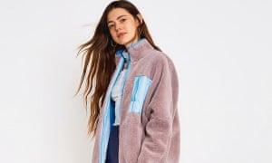 An Urban Outfitters fleece