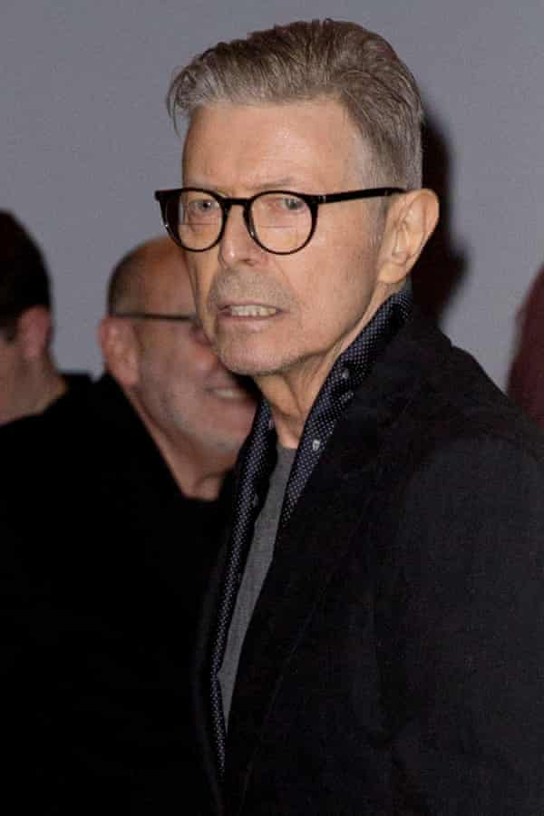 'Since he's passed, there's probably been a more potent sense of his presence' …Bowie at the premiere of Lazarus, 8 Dec 2015.