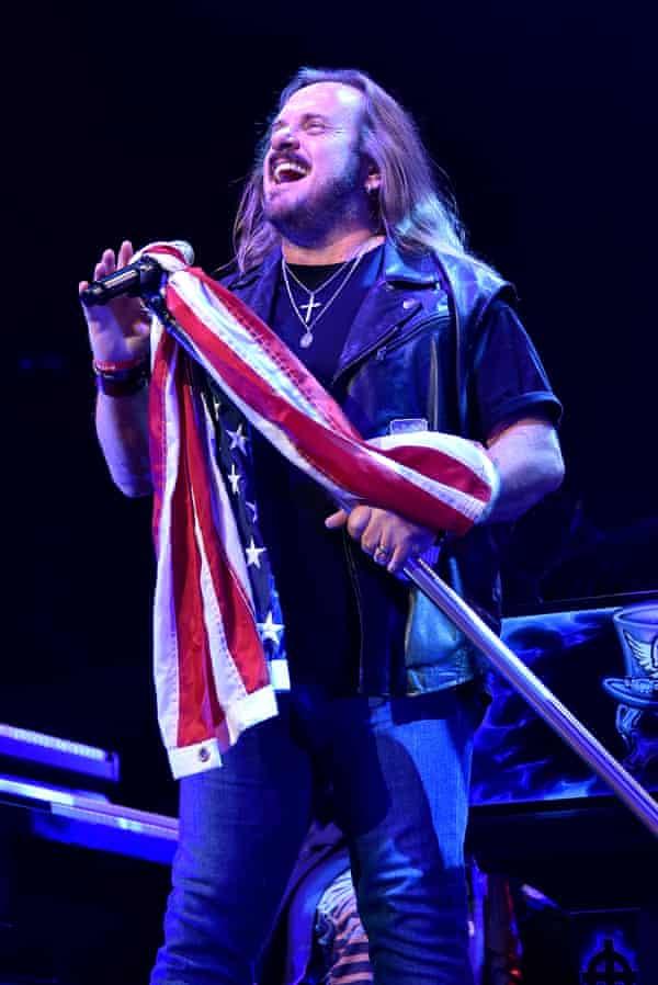 Johnny Van Zant of Lynyrd Skynyrd is one of Rubio's small musical following.