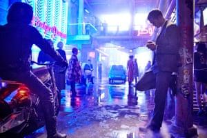 Mute review – Duncan Jones's sci-fi thriller is a Netflix