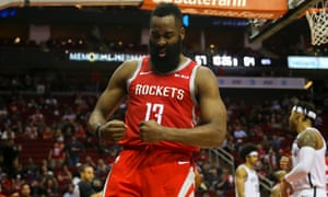 James Harden has scored at least 30 points in 18 straight games and has reached 40 in nine of the last 12