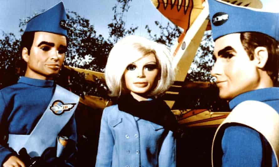 Scott, Lady Penelope and Virgil in Thunderbirds