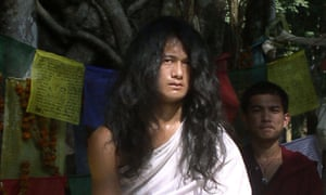 The Nepali spiritual leader Ram Bahadur Bomjan, known as 'Buddha boy'