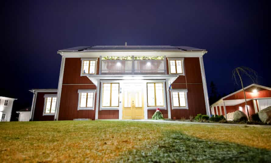 An environmentally smart house in Växjö, which aims to be 'Europe's greenest city'.