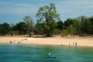 Likoma, a baobab tree-studded island off the Mozambique shore on Lake Malawi