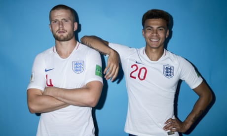 England World Cup squad pose for the cameras – in pictures