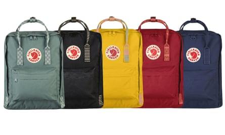 Get a handle on it: Fjällräven backpacks.