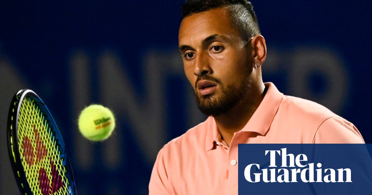 Nick Kyrgios opens up on depression: I was spiralling out of control