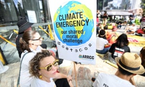 Anti-Adani coalmine protestors warn of 'climate emergency' in Brisbane. If Labor wins the next federal election, it has not ruled out using 'Kyoto credits' – one of dozens of technical elements being negotiated at the UN climate talks in Poland this week.