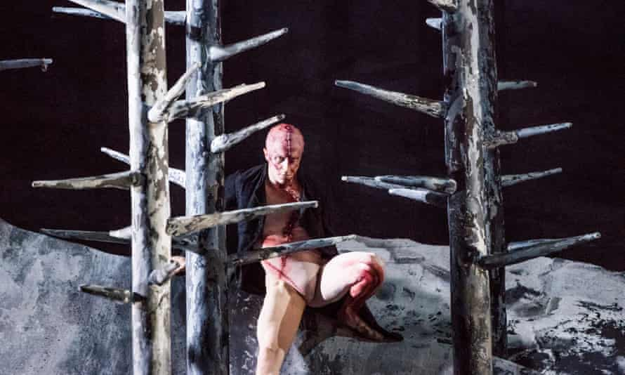 Loneliness comes to life … Steven McRae as the Creature in the Royal Ballet's adaptation of Frankenstein.