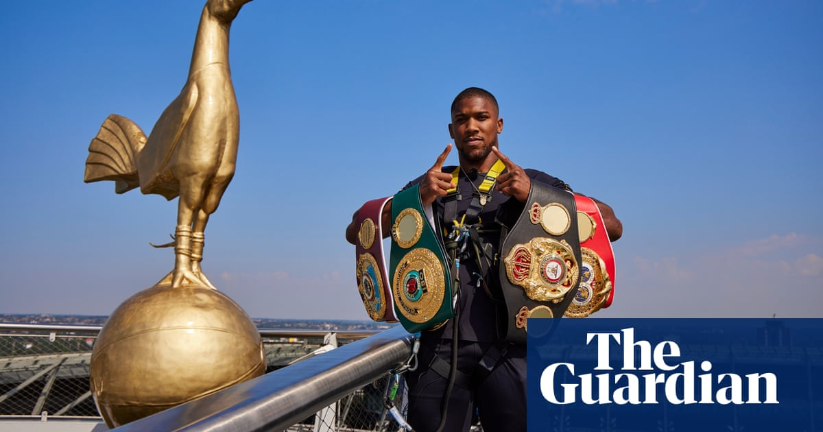 Anthony Joshua to make title defence against Oleksandr Usyk in London
