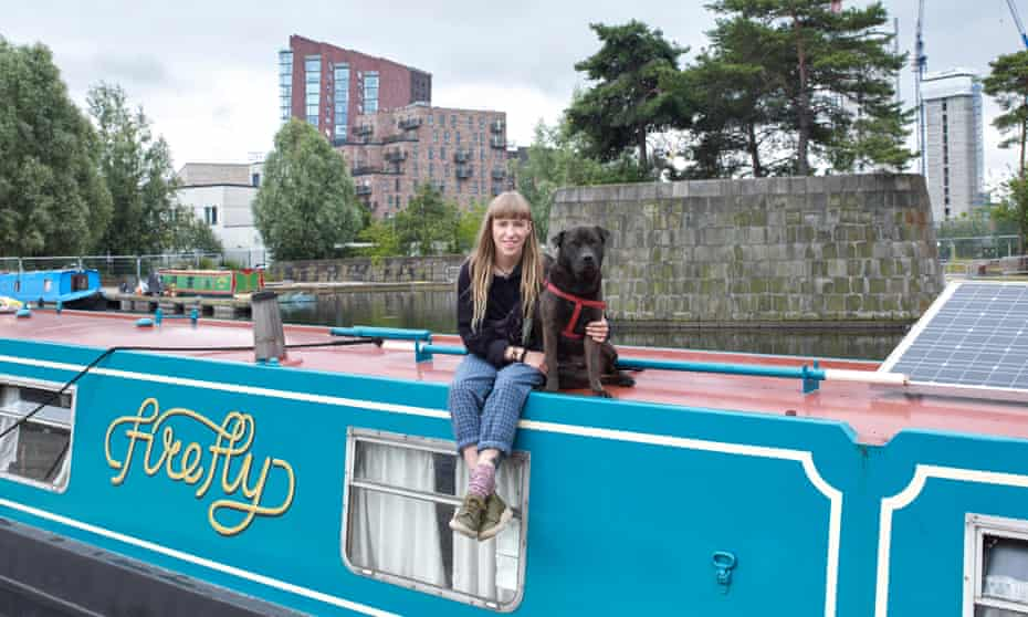 Grace Mattimore and her dog Rolo, Manchester